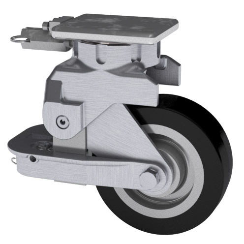 33 Series Aluminum Caster | Modern Suspension