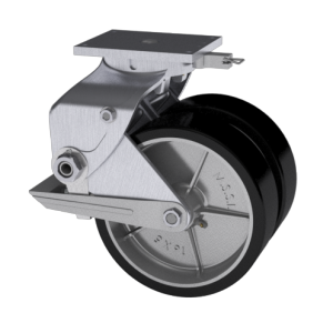 339 Series Aluminum Caster | Modern Suspension