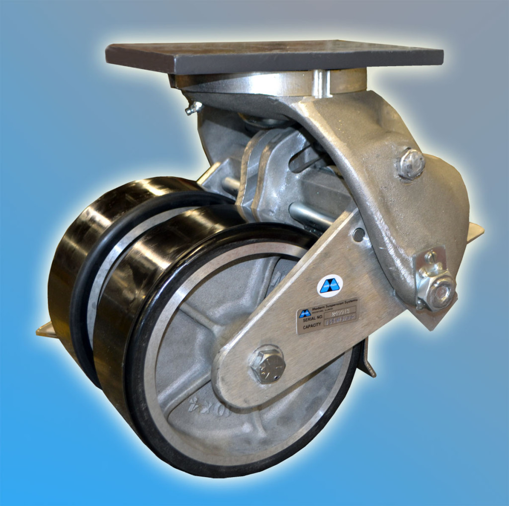 Modern Suspension Systems 138 Series Aerospace Casters