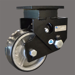 Shock Absorbing, Spring Loaded Casters