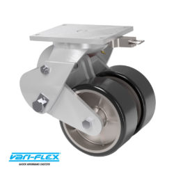 Durable, Dual wheel