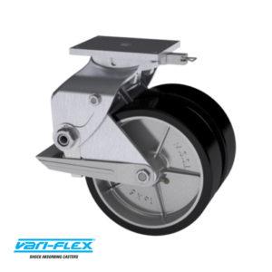 339 Series Aluminum Caster   Modern Suspension